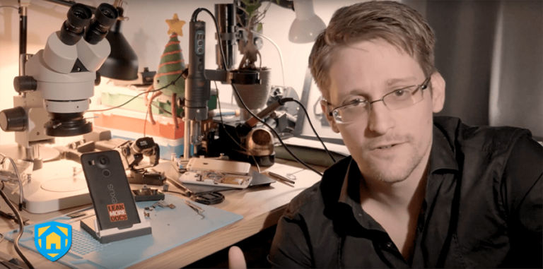 Edward Snowden created an app that turns smartphones into security systems